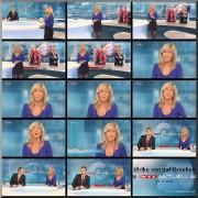 Ulrike von der Groeben---sexy shapely legs--dark Nylons�01.11.10--RTL(Germany)