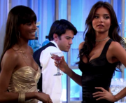 Selita Ebanks's & Miranda Kerr's cleavage guest starring on CBS' HOW I MET YOUR MOTHER (6 caps)