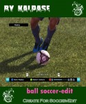 Soccer Edit Ball by Kalpase