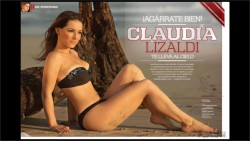 Claudia Lizaldi Revista H Mexico Abril 2012