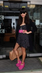 Jameela Jamil at BBC Radio 1 in London 4th April x7