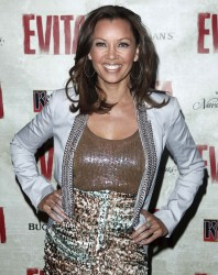 Vanessa Williams - 'Evita' opening Night @ Marquis Theatre